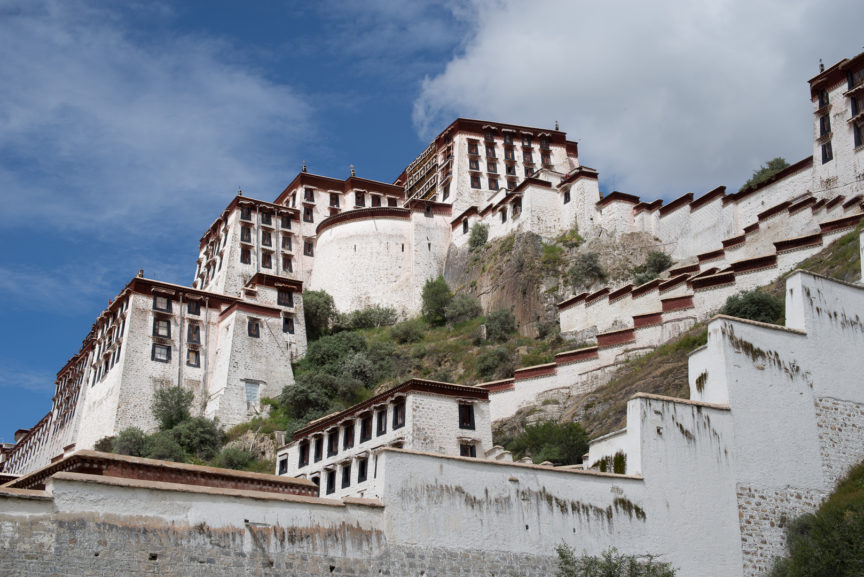 Potala Palace, Lhasa.