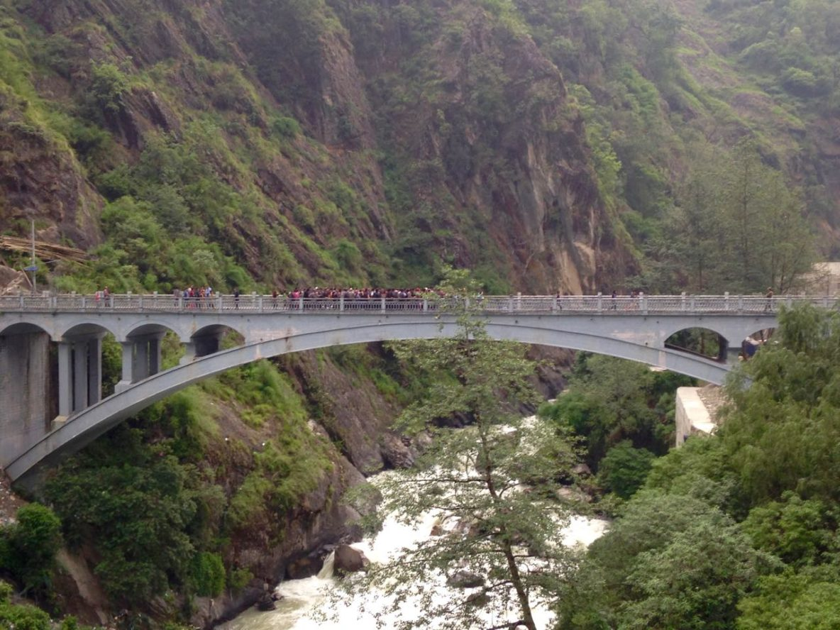China Nepal Friendship Bridge