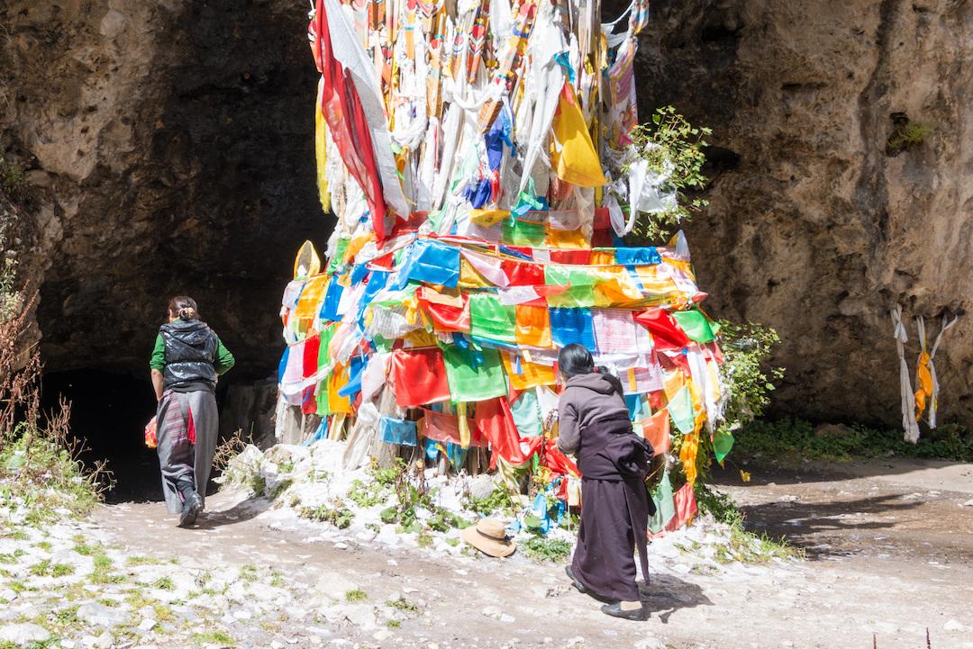 Kirti Monastery Caves