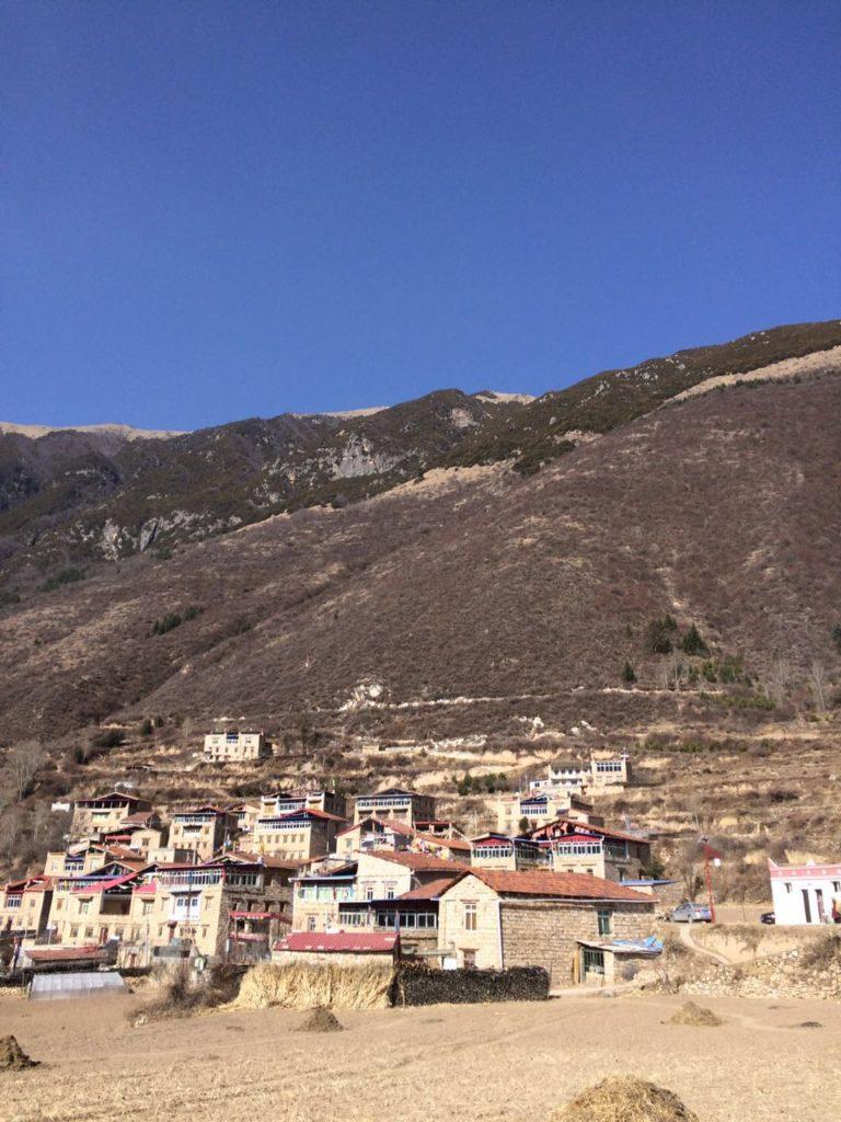 Maerkang hillside