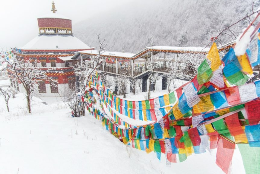 Winter Tibet