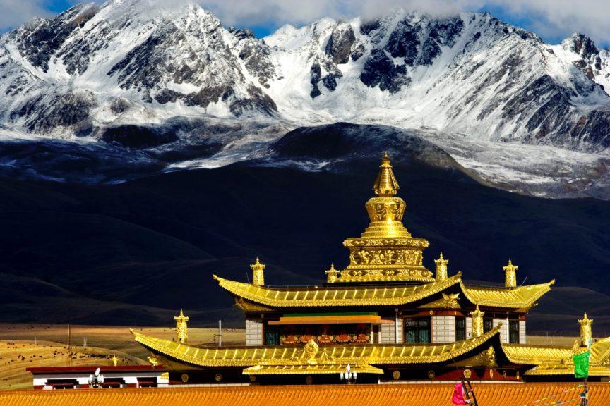 Tagong Temple Tibet