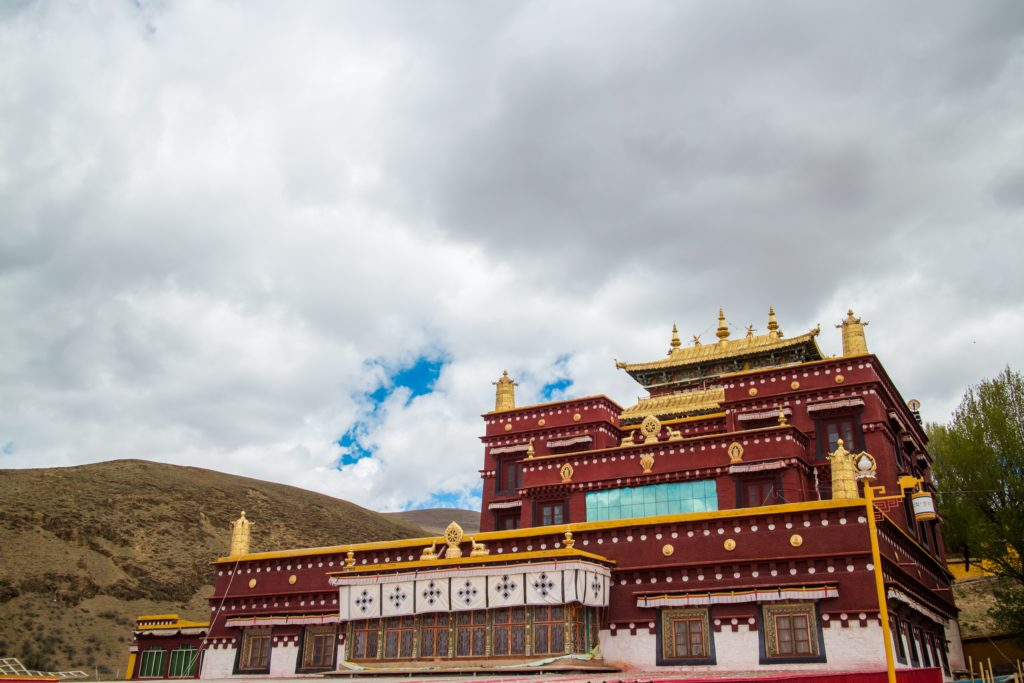 Tibetan Buddhism Temple Tibet