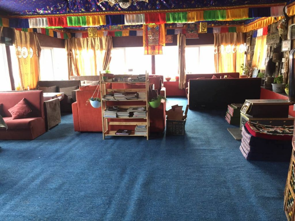 Sok Bo Tibetan Hostel Common Area