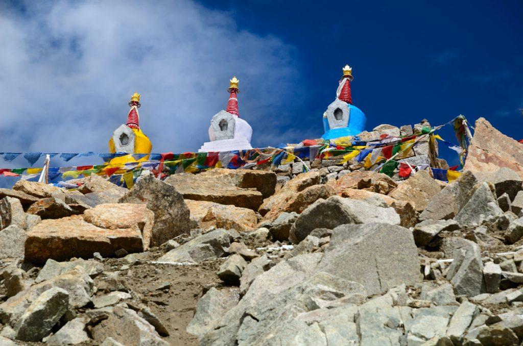 Windhorse Rock Pile Tibet