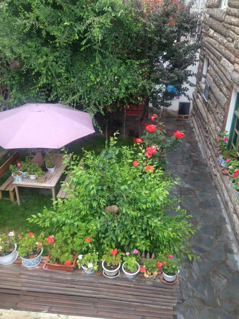 Sonam courtyard