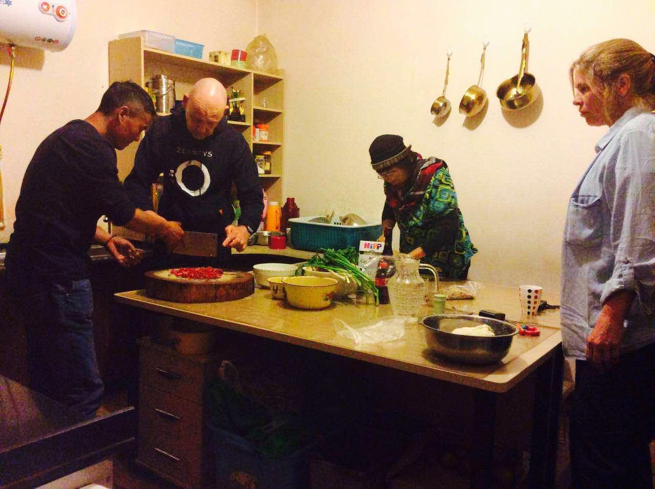 Family Kitchen Tibetan Family Kitchen Tibetpedia