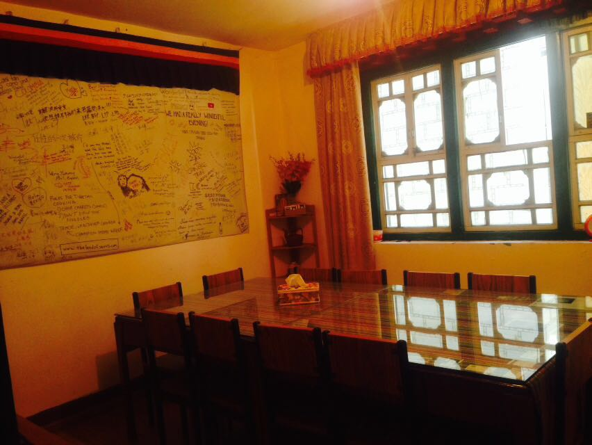 Tibetan Family Kitchen Dining Area