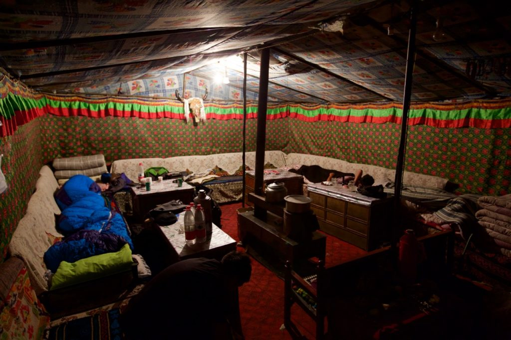 Tent hotel at Everest
