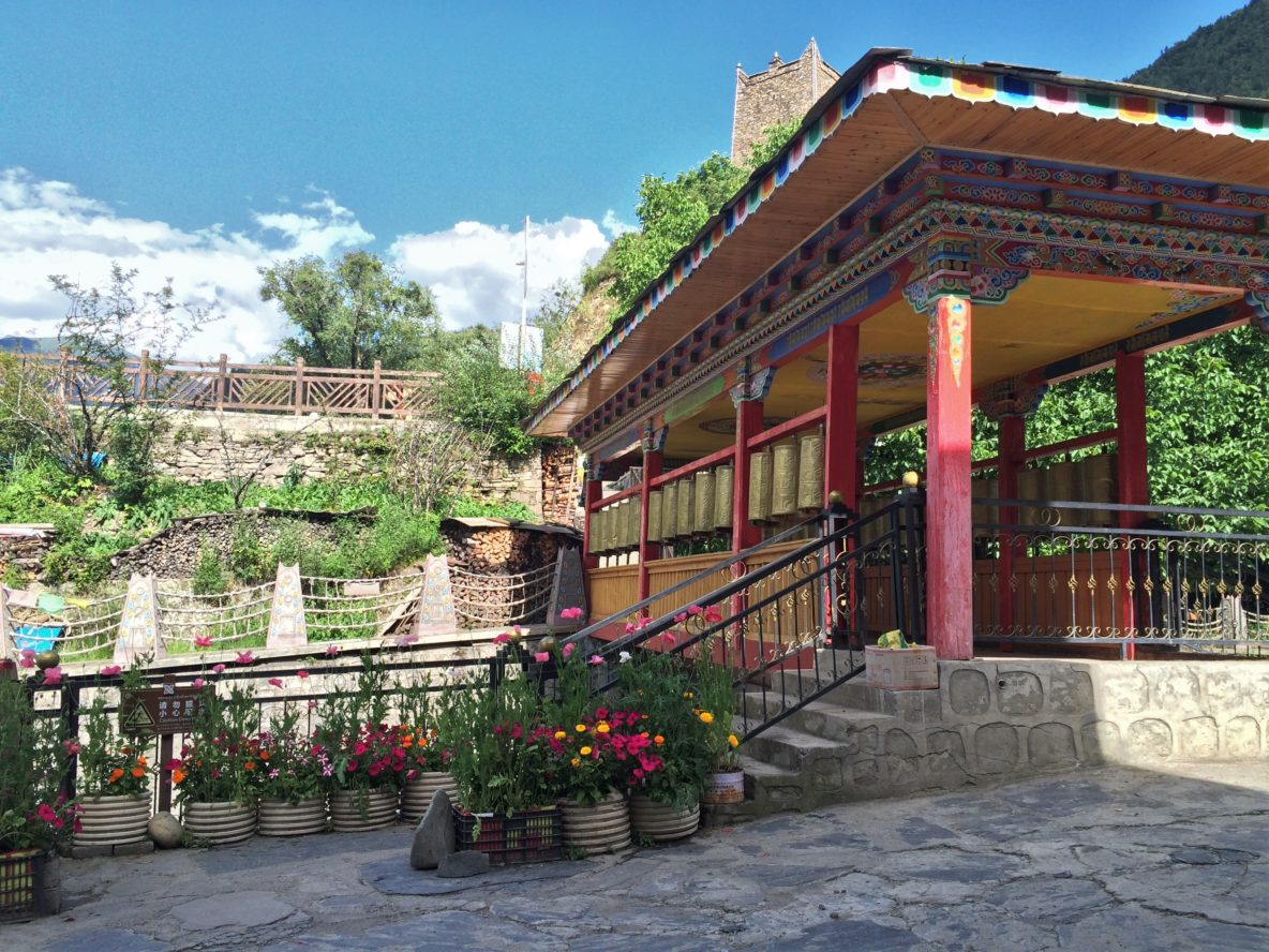 Entrance to Zhuan Jing Bridge Hostel