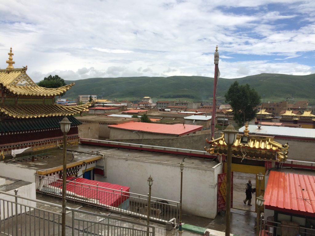View from Kirti Gompa in Aba