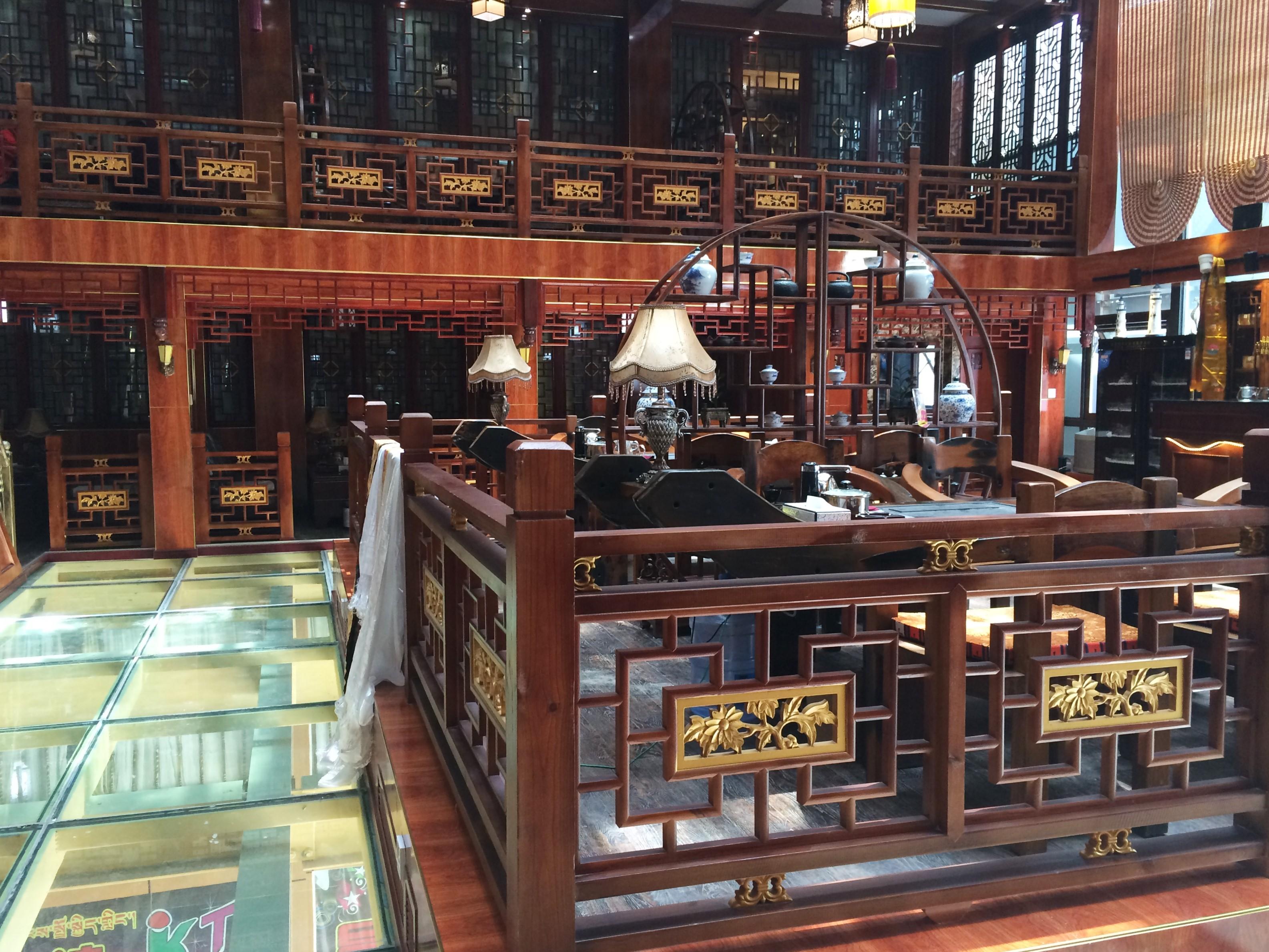 Wrangler Hotel's Tea House