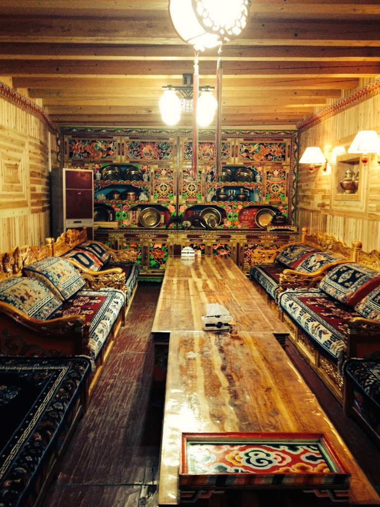 Inside of Nima's Homestay