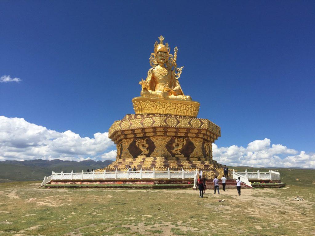 Yachen Monastery: Padmasambhava Idol (Guru Rimpoche)