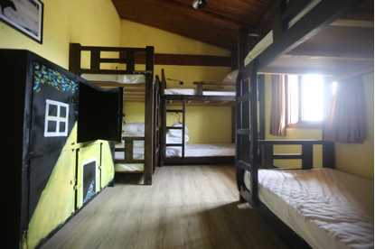Dormitory room at Desti Youth Park Hostel