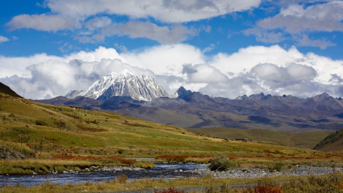 Yala Mountain Kham Tibet
