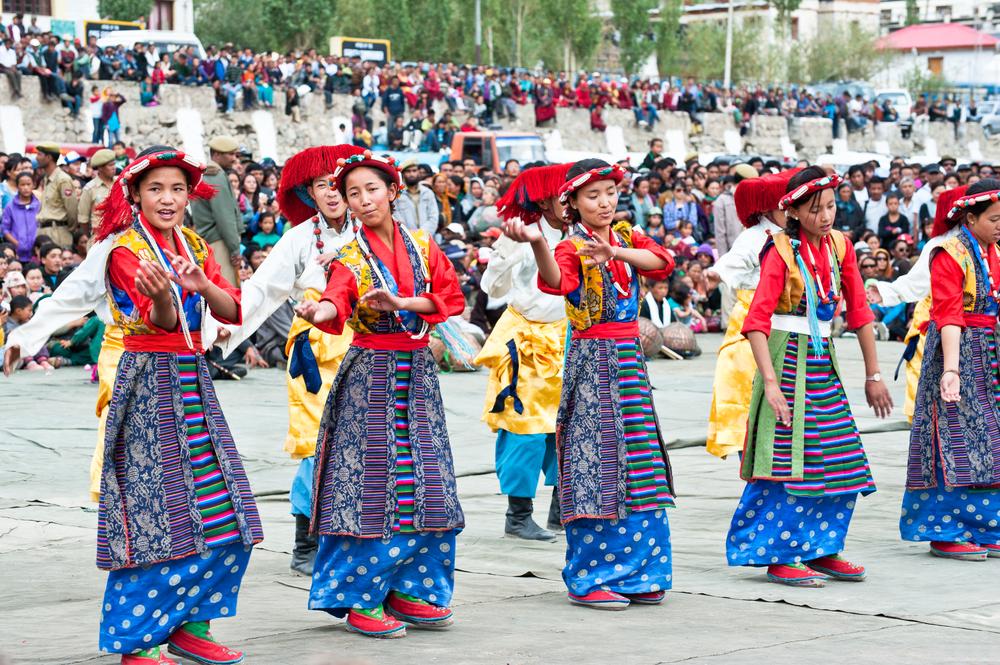 Tibetan Women Dancing