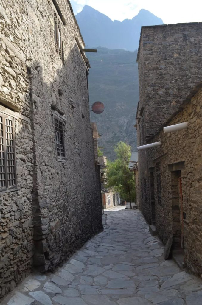 A Quiet Alley in the Old Village