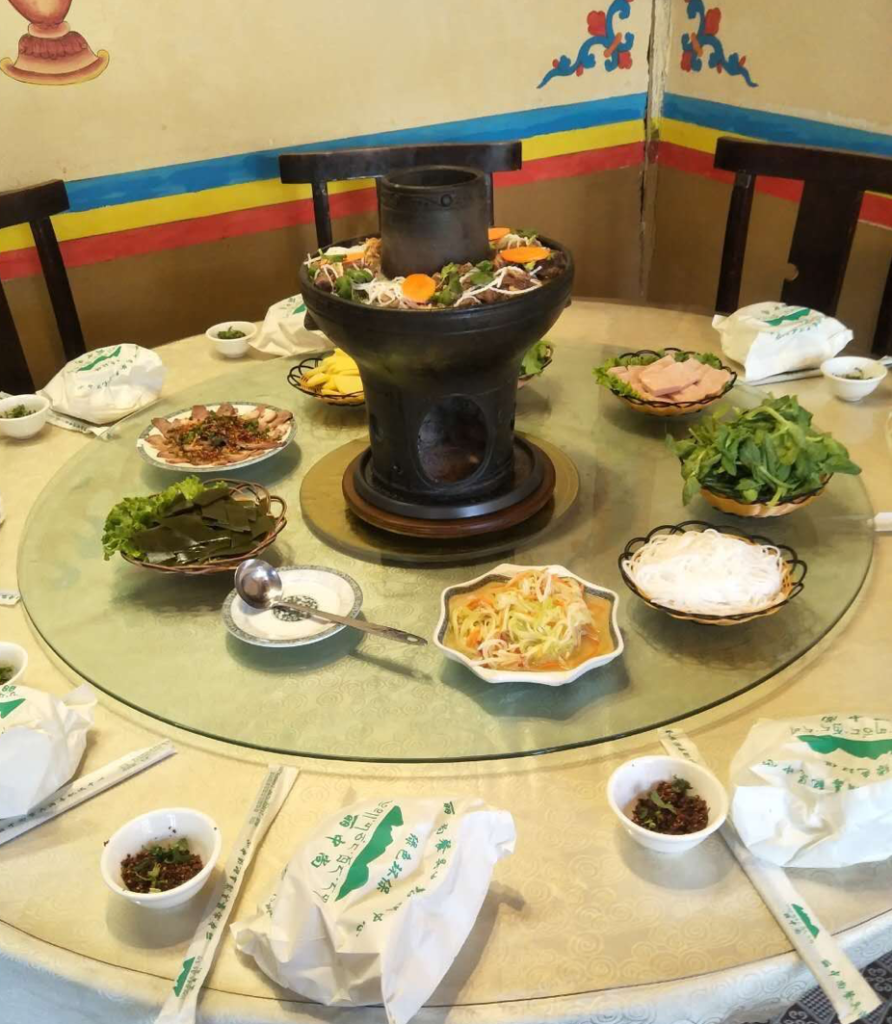 Local Tibetan Hotpot at Kailash Restaurant